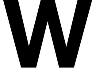 letter-w